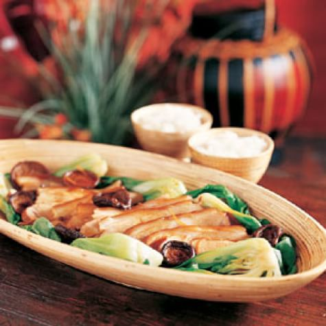 Pork Simmered in Soy and Spices (Hongshao Zhurou)