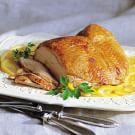 Brined Turkey Breast with Lemon-Parsley Gravy