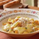 Kerchief Pasta with Caramelized Squash and Fresh Herbs