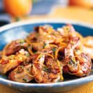 Shrimp with Orange and Tequila