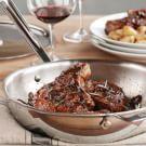 Balsamic Quick-Braised Pork Chops