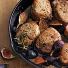 Pork Medallions with Roasted Figs