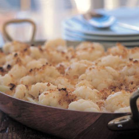 Creamy Cauliflower Gratin