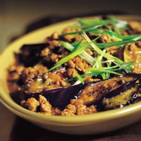 Sichuan-Style Braised Eggplant