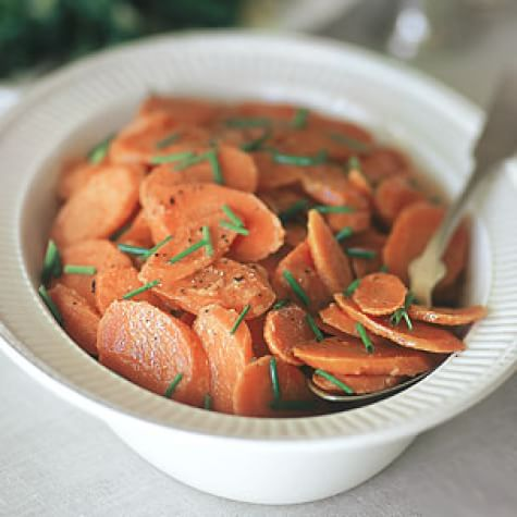 Carrots Glazed with Mustard and Brown Sugar