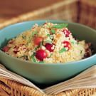 Couscous Salad with Cherry Tomatoes and Bell Peppers