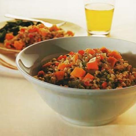 Black-Eyed Peas and Brown Rice