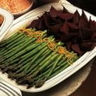Asparagus and Beets with Romesco Mayonnaise