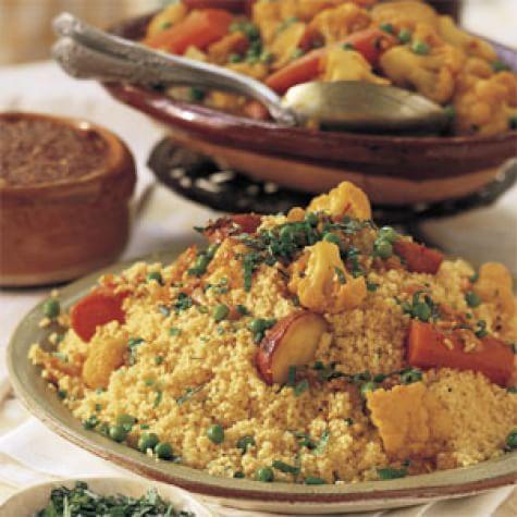 Vegetable Couscous (Couscous aux Légumes)