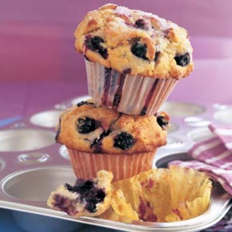 Big Blueberry Muffins