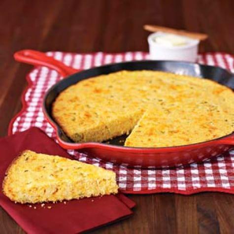 Jalapeño-Cheddar Corn Bread