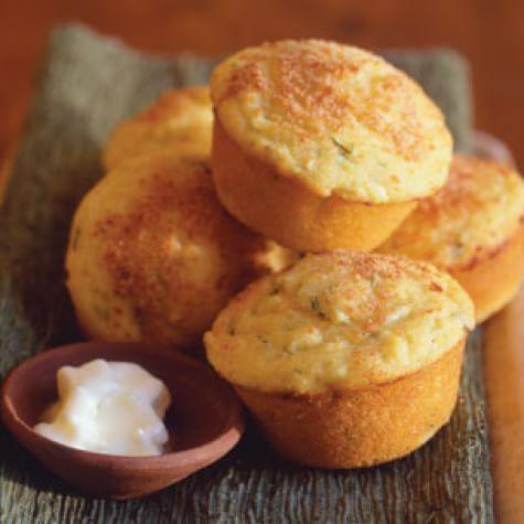 Jalapeño-Cornmeal Muffins