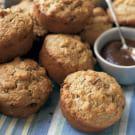 Date-Apple Oat Bran Muffins