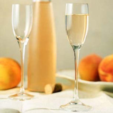 Peach, Honey and Cardamom Wine Cordial