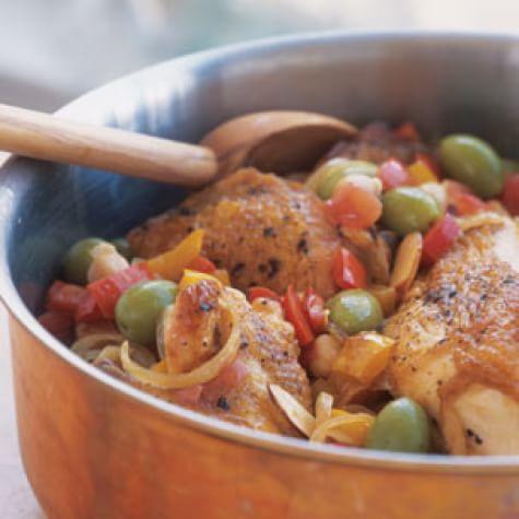 Spanish Chicken Stew