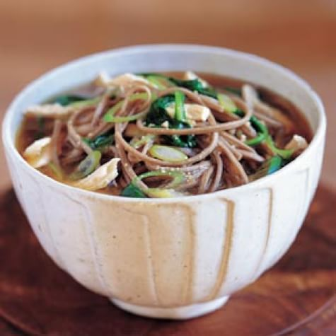 Chicken and Soba Noodle Soup