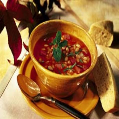 White Bean Soup with Smoked Ham