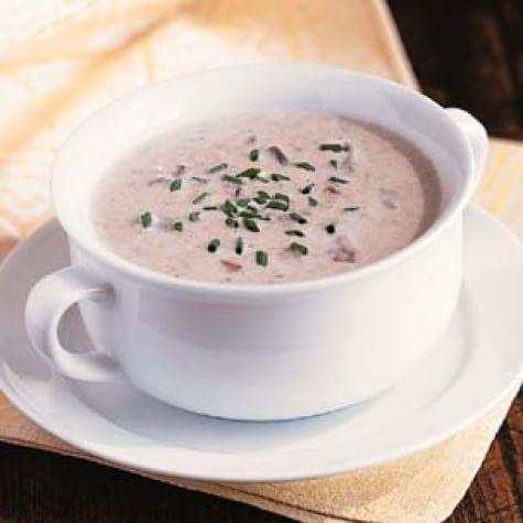 Creamy Porcini Mushroom Soup