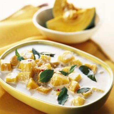 Squash and Coconut Milk Soup