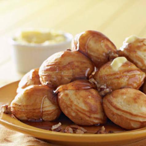 Pecan Pumpkin Filled Pancakes | Williams Sonoma