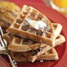 Spiced Orange Waffles