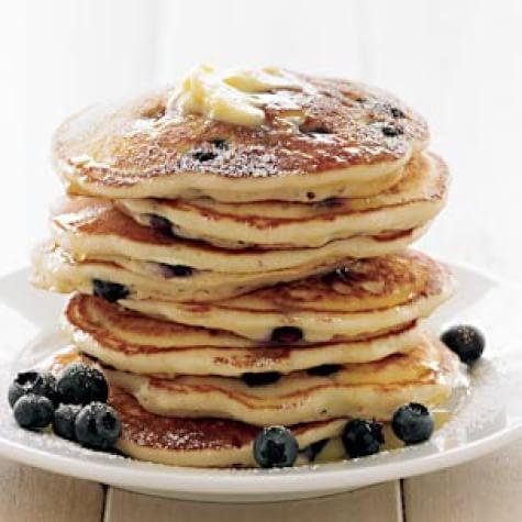 Blueberry-Buttermilk Pancakes