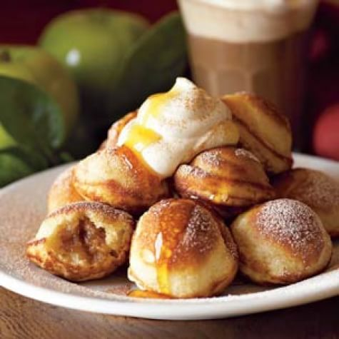 Spiced Apple-Filled Pancakes