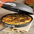 Potato-Crusted Frittata with Chorizo