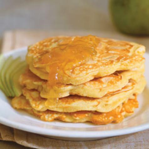 Ginger-Pear Pancakes