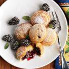Blackberry Jam-Filled Pancakes