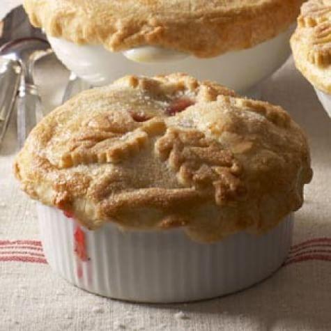 Apple-Cranberry Potpies