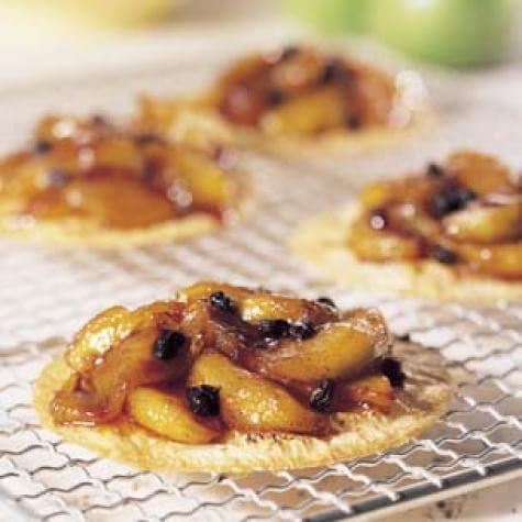 Caramelized Spiced Apple Tartlets