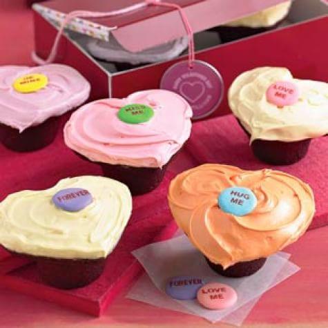 Sprinkles Red Velvet Heart Cupcakes