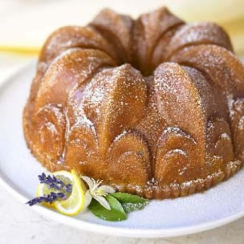 Lavender-Lemon Bundt Cake