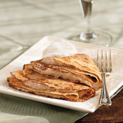 Crepes with Chestnut Cream