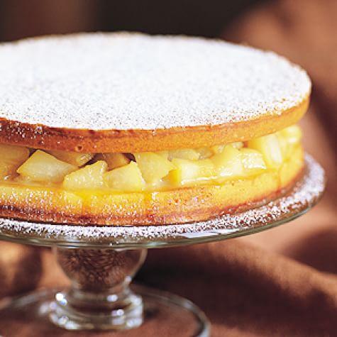 Ginger-Pear Torte