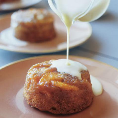 Individual Orange Butter Cakes