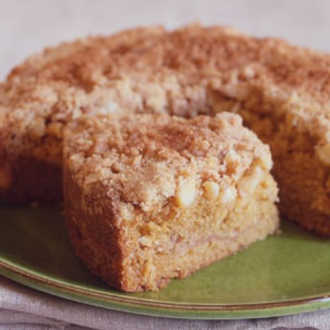 Brown Sugar-Macadamia Nut Coffee Cake