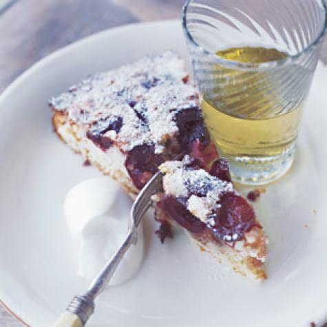 Cherry-Almond Cake