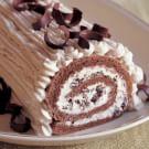 Rolled Chestnut Cream Cake