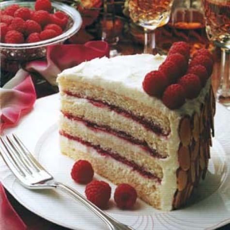 Almond-Scented White Cake