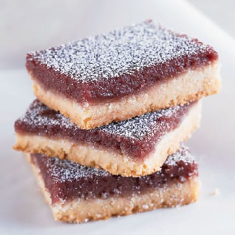 Blackberry-Almond Bars