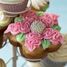 Vanilla Daisy Cupcakes