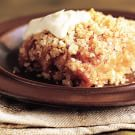 Roasted Apple Brown Betty