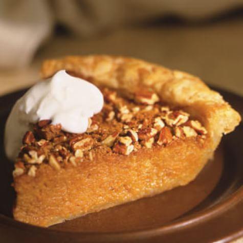 Sweet Potato Pie with Pecan Streusel