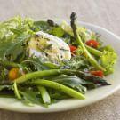 Roast Asparagus Salad with Chèvre