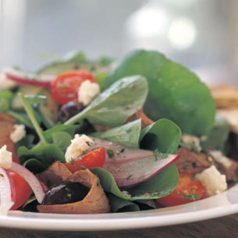 Greek-Style Beef Salad