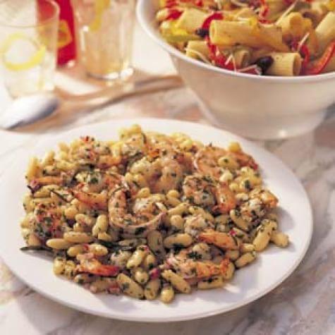 Warm Shrimp and White Bean Salad