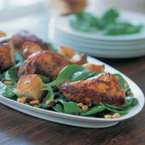 Roast Chicken & Bread Salad