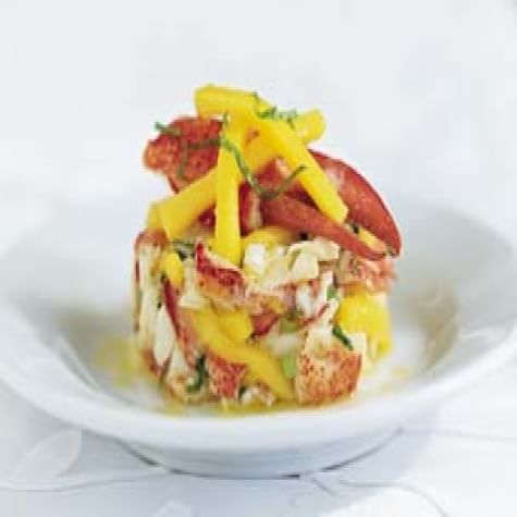 Chilled Lobster with Mango and Mint